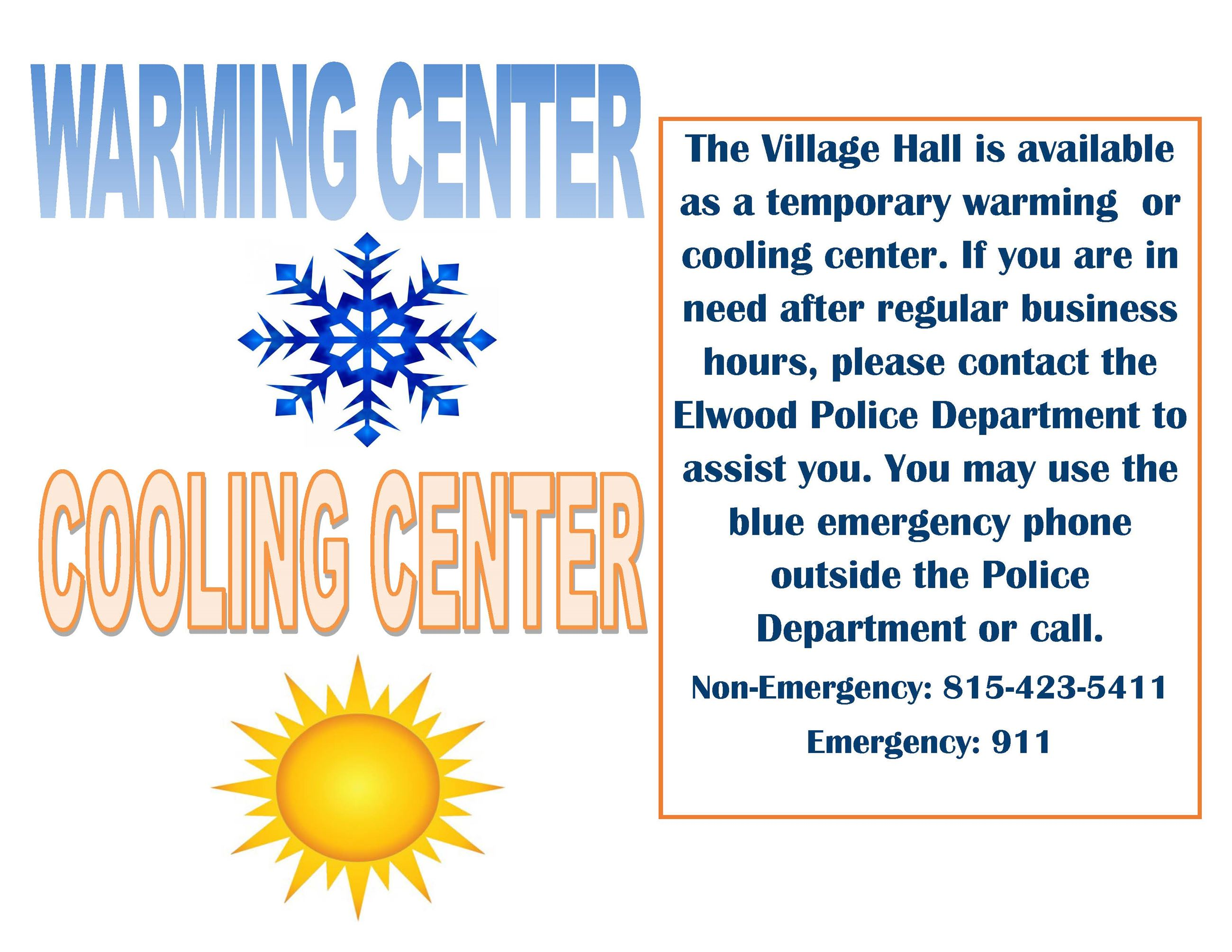 warming and cooling center