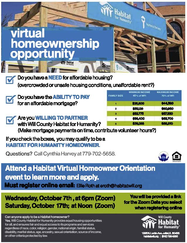 Homeowner Orientation Oct 7th and Oct 17th, 2020 (1)